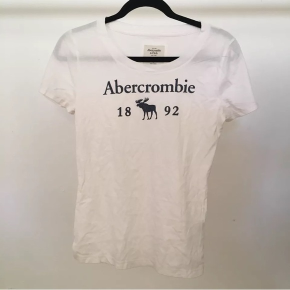 9f00c2bd Abercrombie & Fitch Tops   Abercrombie Fitch 1892 Reindeer Logo ...